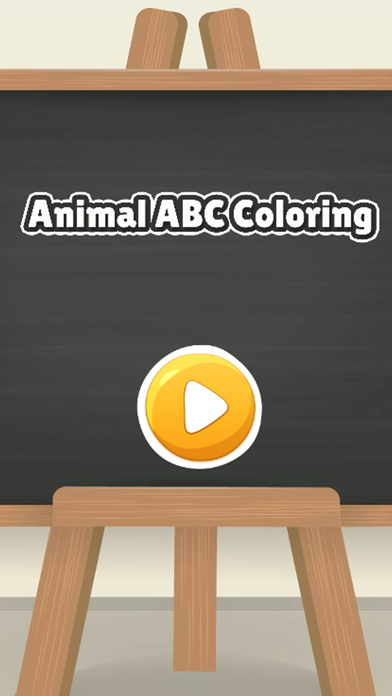 Animal ABC learning coloring book games for kids screenshot one