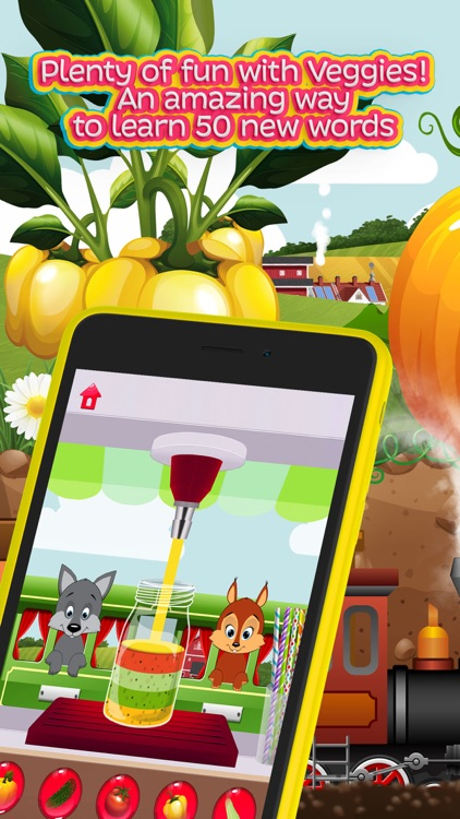 Moona Vegetable: Learning Games for Toddler, Kids