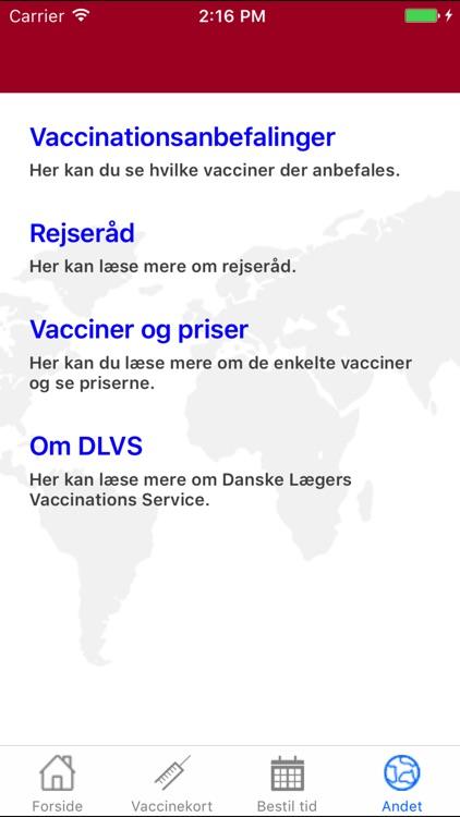 Danske Lægers Vaccinations Service screenshot-4
