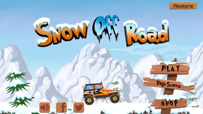 Screenshot Snow Off Road