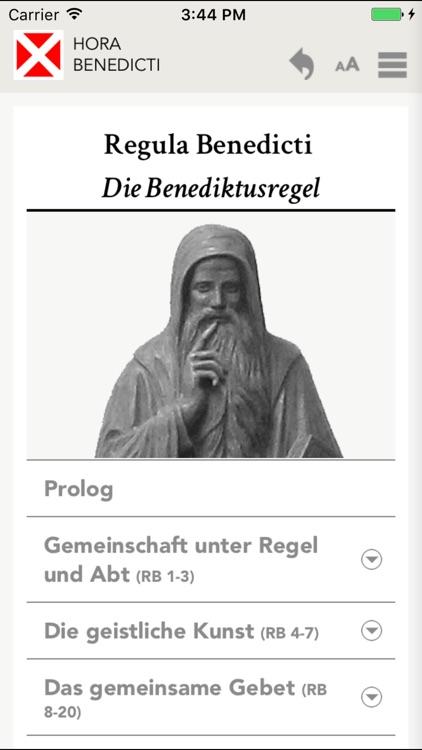 Hora Benedicti