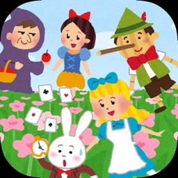 Fairy tale characters for kids app