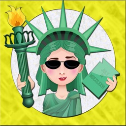 LibertyMoji - The Statue of Liberty emoji app