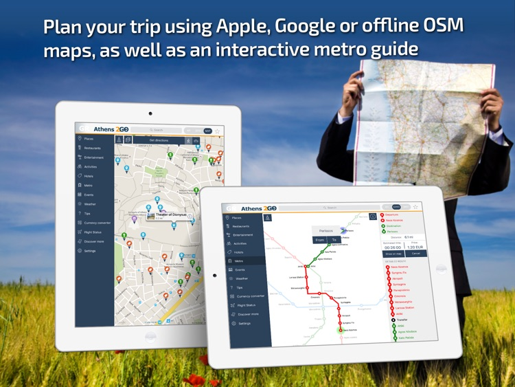 Athens Travel Guide & offline city map screenshot-3
