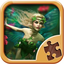 Fairy Puzzle Games for Kids - Magic Jigsaw Puzzles