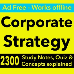 Corporate Strategy Exam Prep & Test Bank App 2017