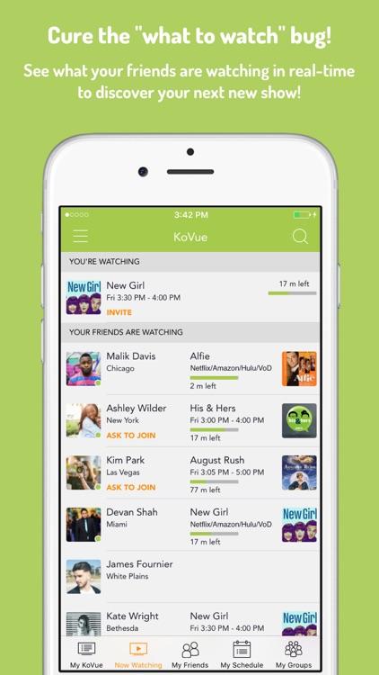 KoVue- A Social TV Experience