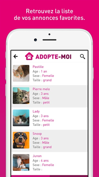 download Adopte-moi - Adopte chien chat apps 1