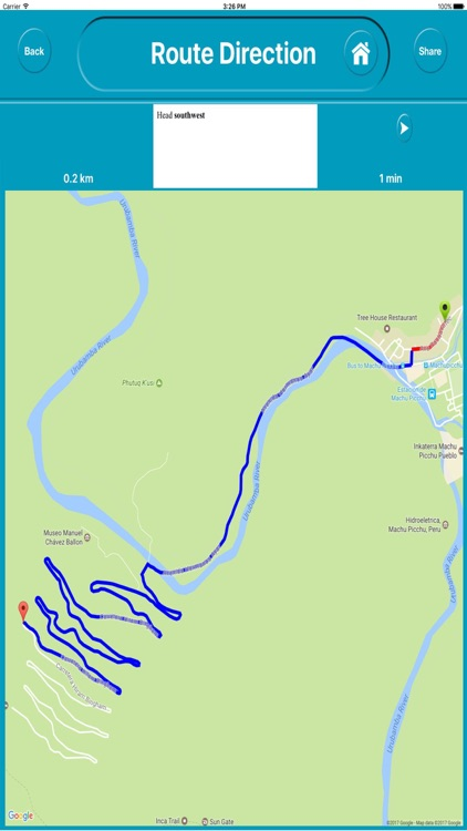 Machu Picchu Peru Offline City Maps Navigation screenshot-4