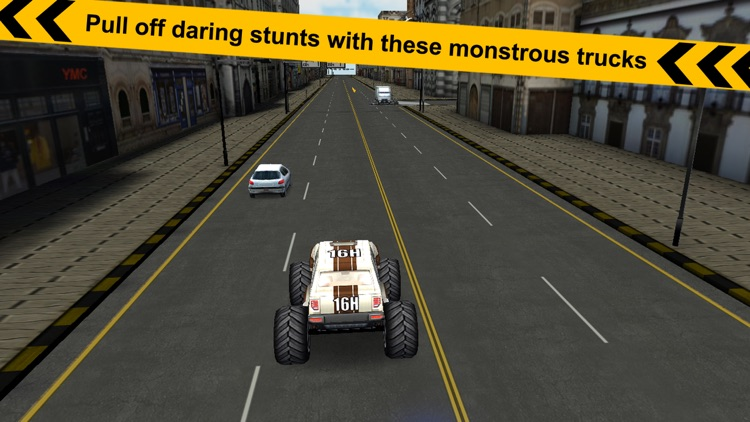 Crazy Monster Truck - Escape screenshot-3