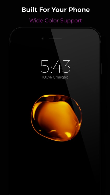 Black - Live Wallpapers screenshot-3