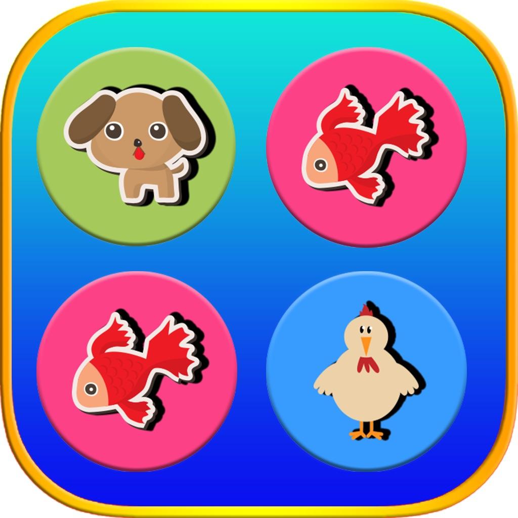 Animals Memory Matching Game - Brain Trainers hack