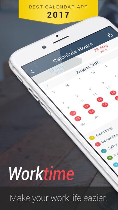 WorkTime: Arbeitszeit KalenderScreenshot von 1