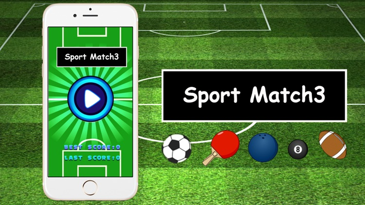 Sport Match 3 game