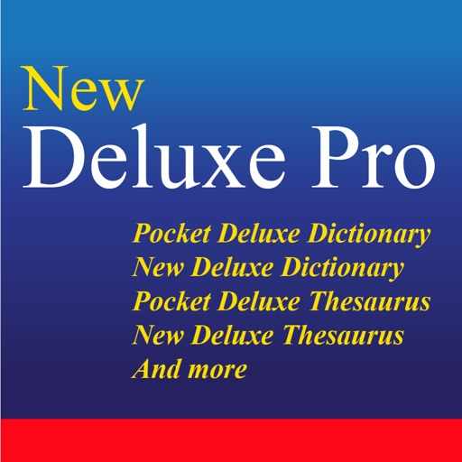 New Deluxe Dictionary And Thesaurus Pro