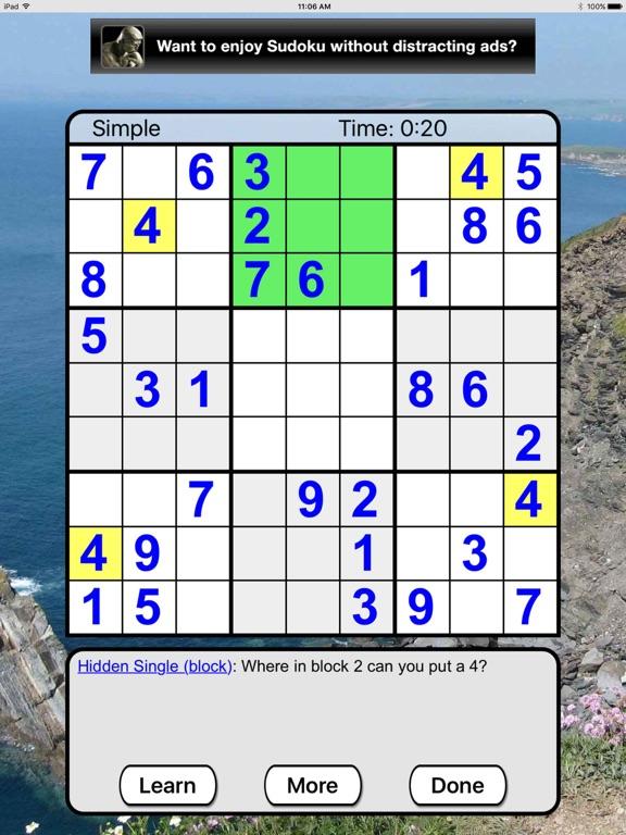 Sudoku Joy screenshot
