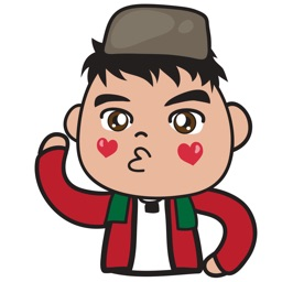 Anwar betawi guy for iMessage Sticker
