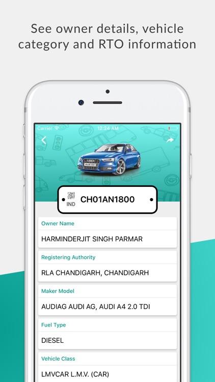 Car Info Vehicle Registration Details (RTO India)