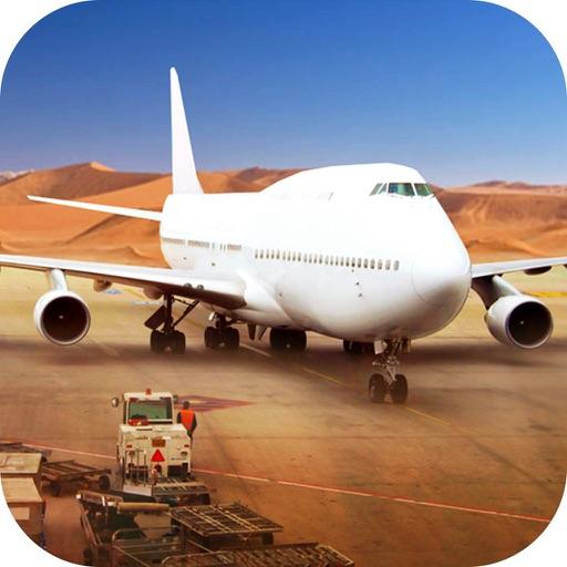 Cargo Airport Simulator-Infinite Airplane Flight Icon