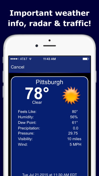 WPXI Channel 11 – Pittsburgh News, Weather, Video screenshot-3