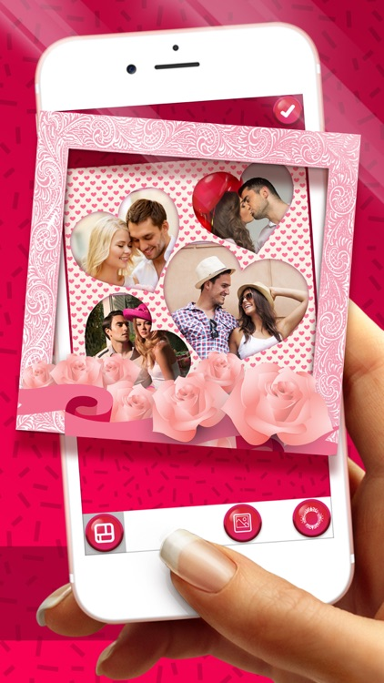 Valentine's Day Photo Collage – Love Frames