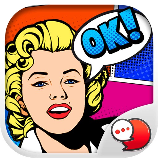 Pop Art Chat Stickers for iMessage