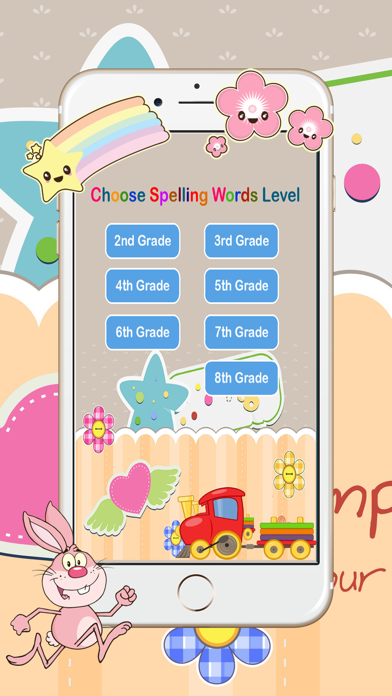 Basic Spelling Words Practice Games for All Grade screenshot one
