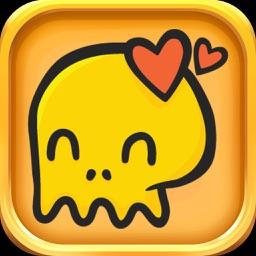 Skull Stickers - Skull Emojis Set