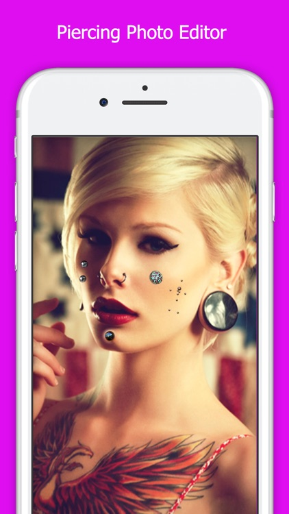 Piercing Photo Editor - Free Body Piercing Booth by Mitesh Varu