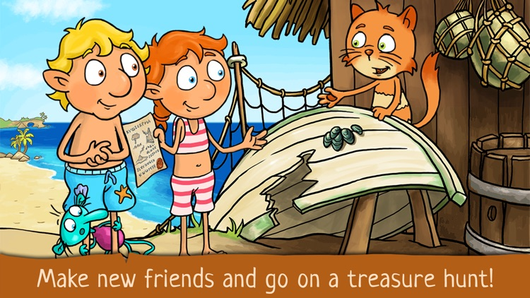 The Zwuggels - Beach Holidays and Treasure Hunt screenshot-3