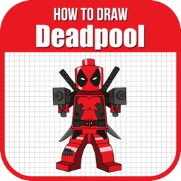 Draw Deadpool