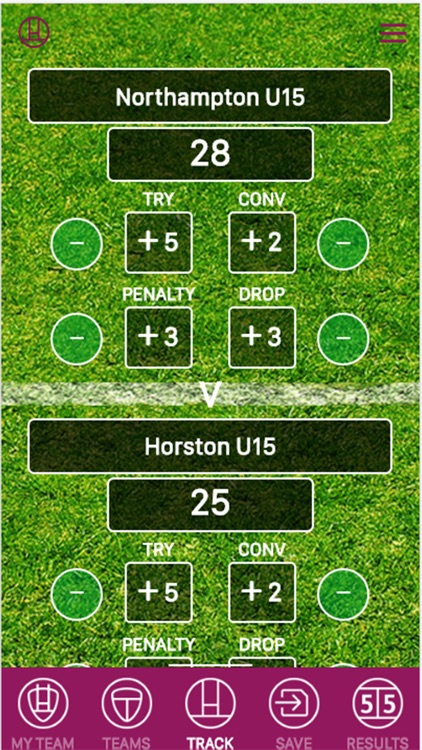 Rugby Score Tracker Pro screenshot-0