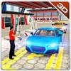 車のサービスステーション駐車場 - プラドジープを運転 - iPadアプリ