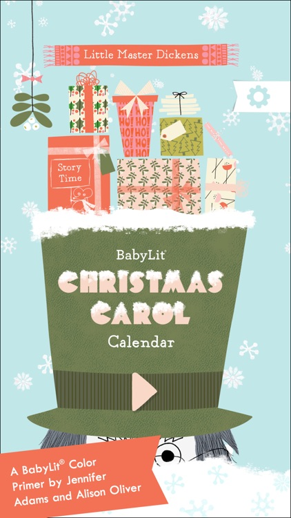 BabyLit Christmas Carol Calendar screenshot-0