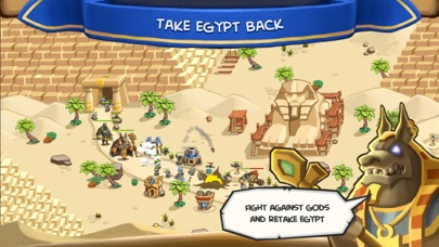 Empires of Sand TD - Egypt War Screenshot on iOS