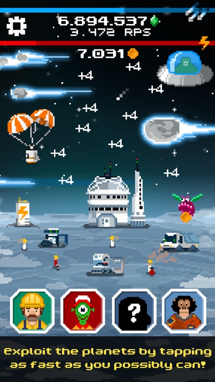 Tap Galaxy – Deep Space Mine screenshot-0