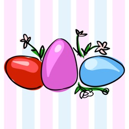 EGGstra Happy Easter Stickers