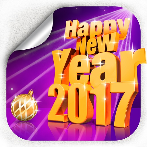 New Year Party Decorations & Filters For Photos