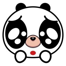 Angry Panda Animated Emoji Stickers
