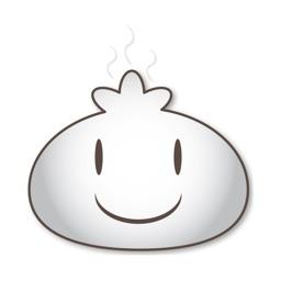 Steamed Bun stickers by DanielP
