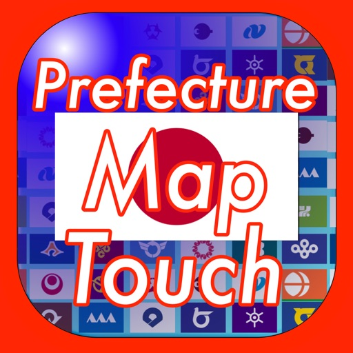 Prefecture Map Touch in Japan