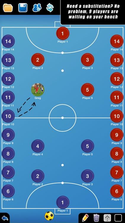 Coach Tactic Board: Futsal++
