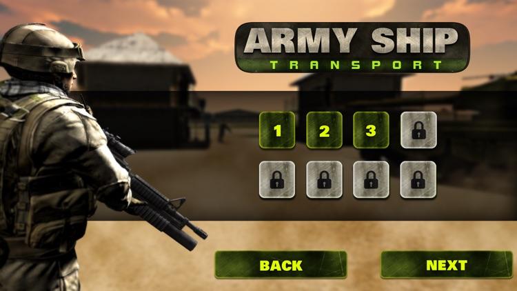 Army Tank Ship Transporter 3D