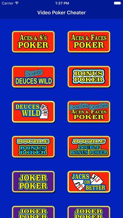 Video Poker Cheater