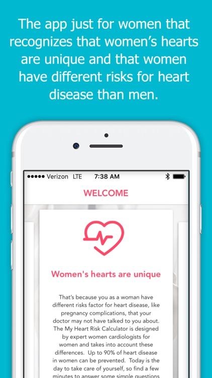 Love My Heart for Women by Columbia University screenshot-4