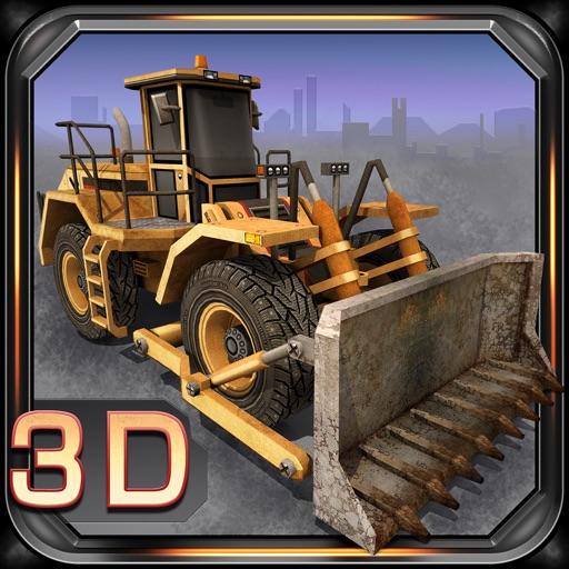 3D парковка на строительной площадке