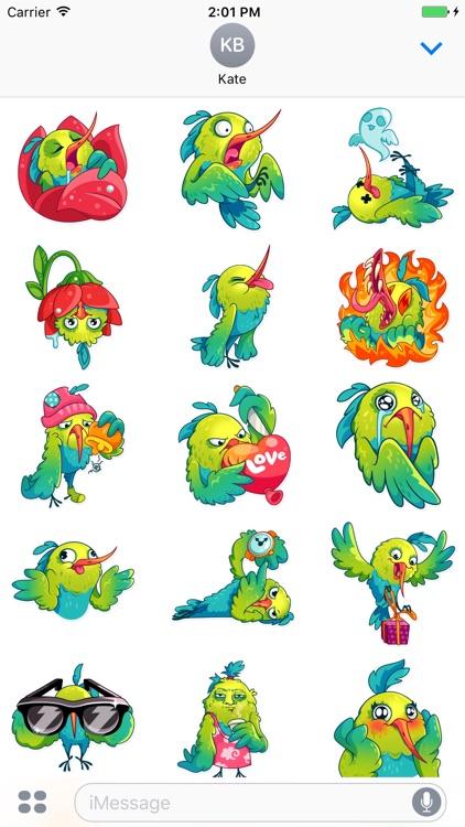 Hummingbird! Stickers