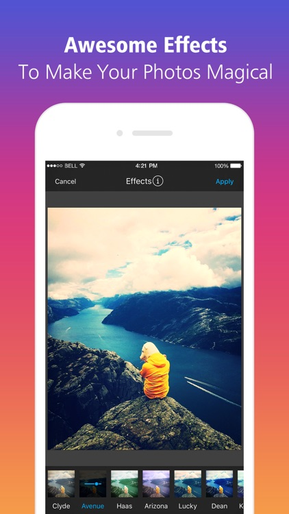 Photo Editor to Get Likes for Instagram app image