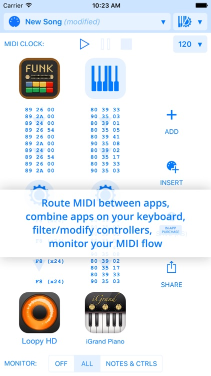 Midiflow screenshot-0