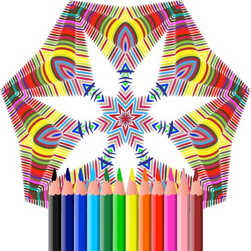 Adult Coloring Books - Mandalas